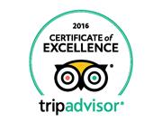 TripAdvisor Recommended 2016